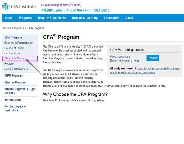 12月CFA一级考试成绩,2015年12月CFA考试成绩查询流程,12月CFA成绩查询,2015年12月CFA一级考试成绩月1月26日公布