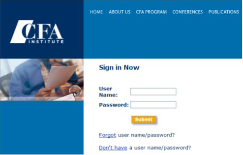 CFA试卷