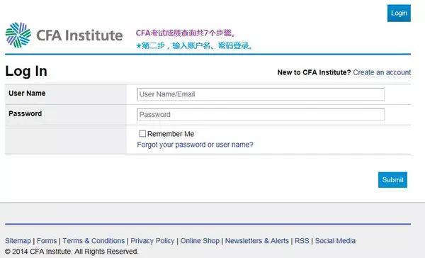 CFA网站