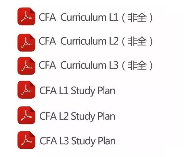 CFA考试资料
