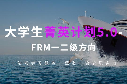 FRM一二级大学生职业发展培训