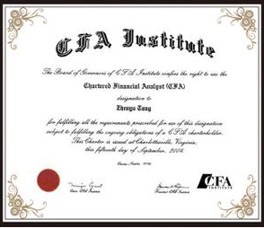 如何获取CFA证书问题解答|CFA职业规划